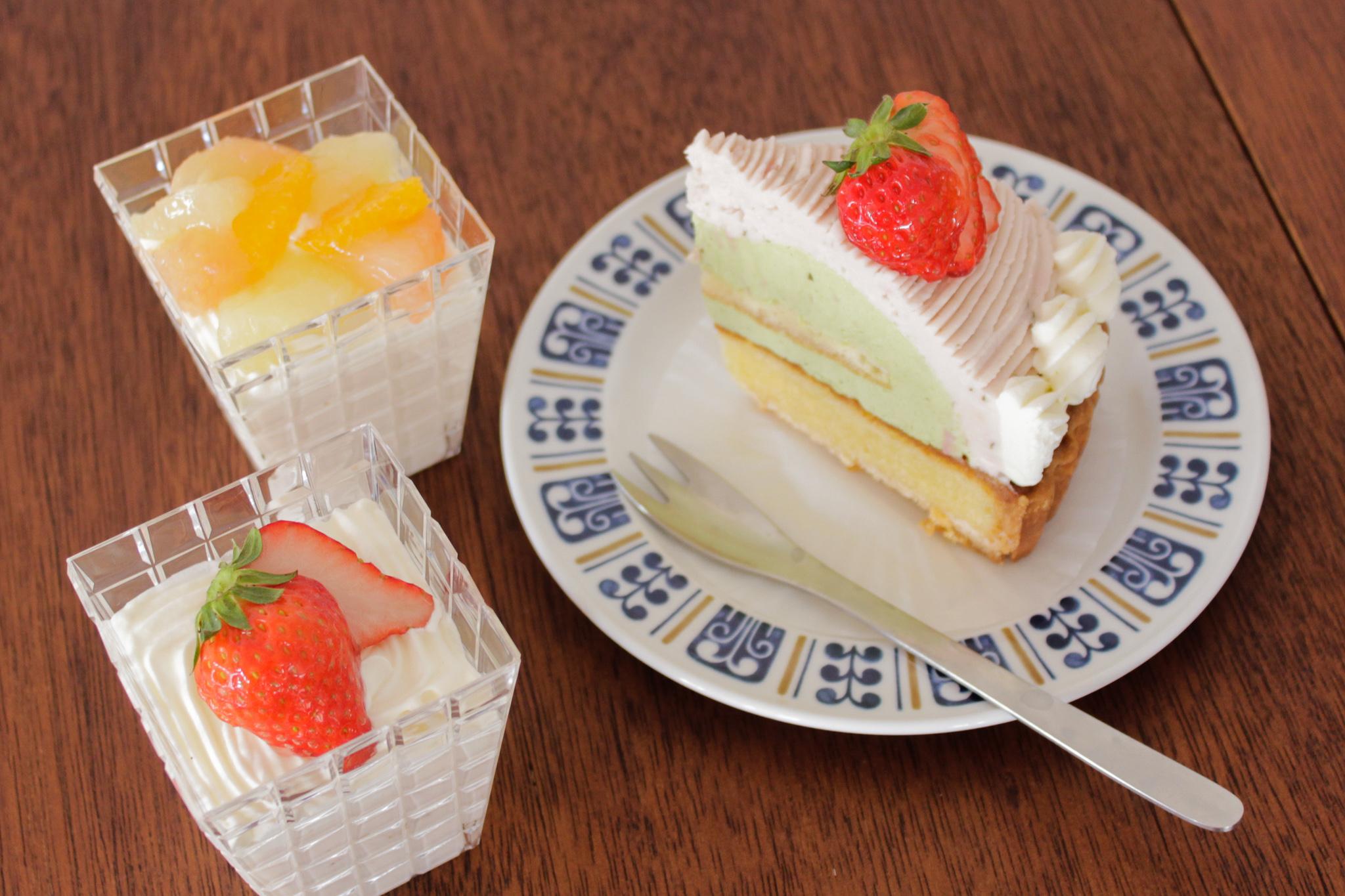 ミミエデンのショートケーキ